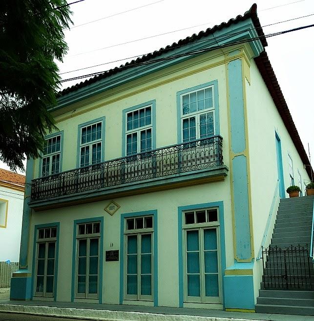 Fachada da Biblioteca Municipal de São José