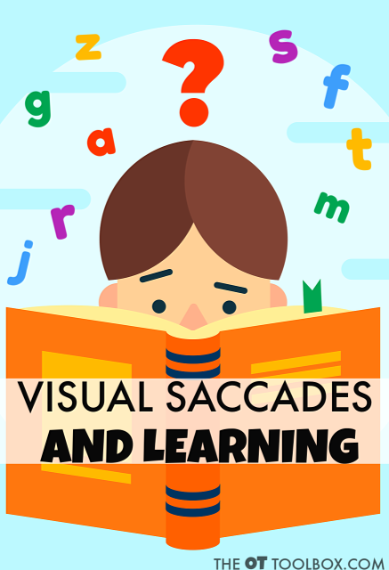Saccades and saccadic eye movements have a huge impact on learning and reading.