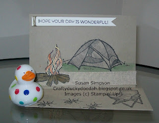 Stampin' Up! Made by Susan Simpson Independent Stampin' Up! Demonstrator, Craftyduckydoodah!, The Great Outdoors,