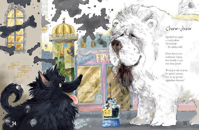 Polska Ilustracja Dla Dzieci Nowość Wiersze Pod Psem