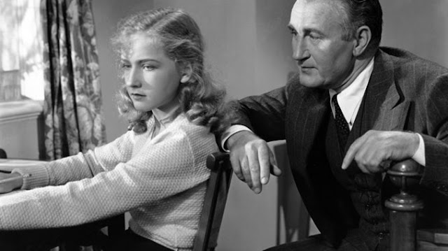 Bonita Granville & Donald Crisp in The Beloved Brat (1938)