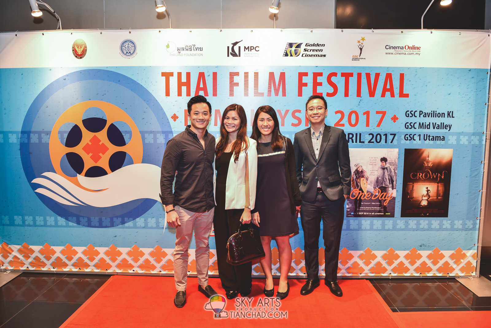 Thai Film Festival in Malaysia 2017 GSC Pavilion KL - Note Panayanggool,  Ittisak Eusunthornwattana,