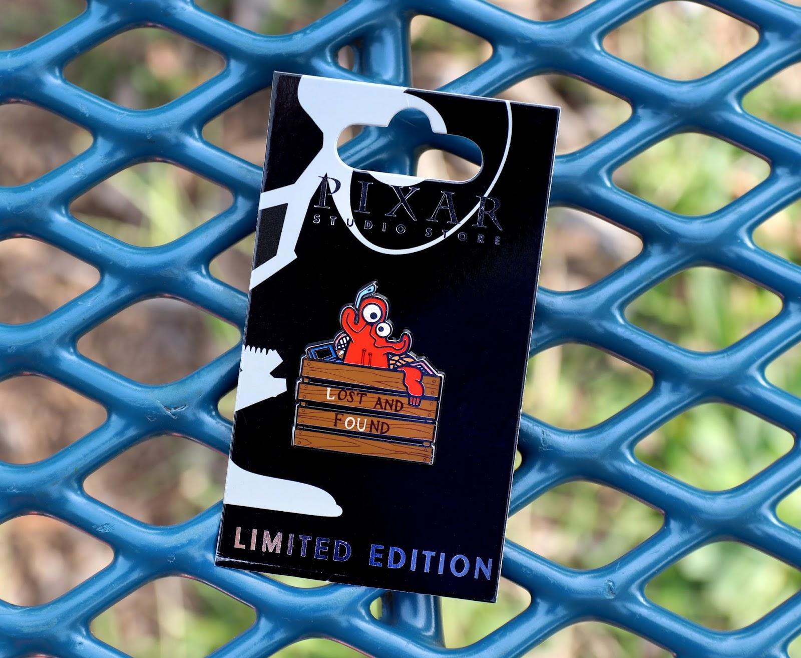 pixar studio store LOU pin