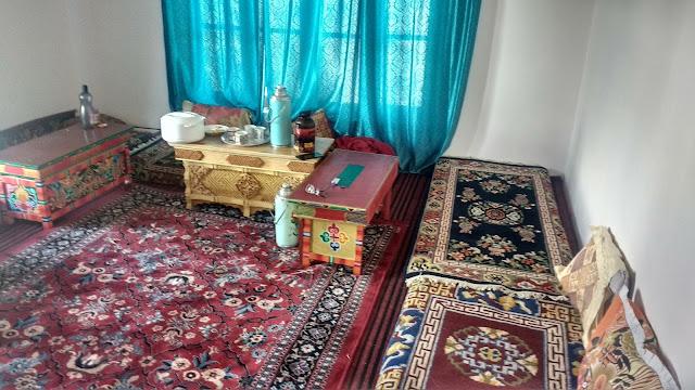 Bedroom or Dining Room setup in Leh