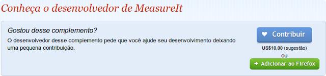 MeasureIt - medir imagens na página da web