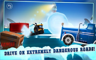 Games Ice Road Truck Driving Race Apk