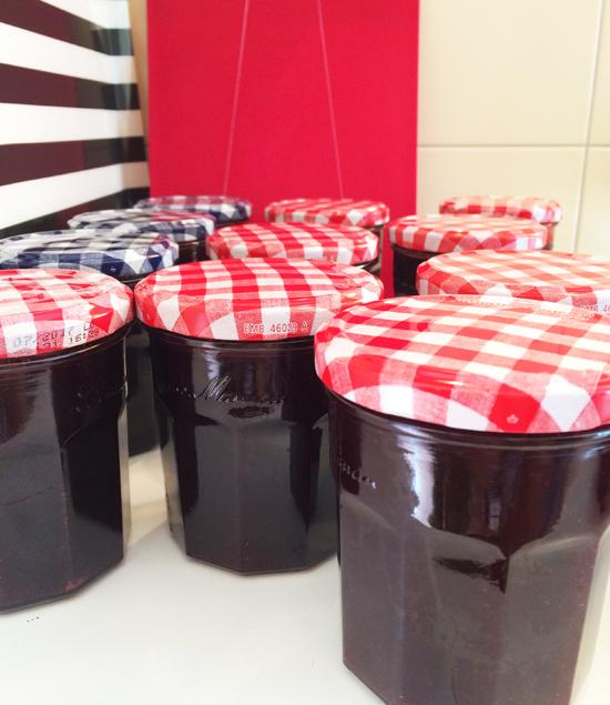 binedoro Blog, Brombeer-Gelee einkochen, Küche, kochen, Marmelade, Brombeeren, Beeren, Ernte