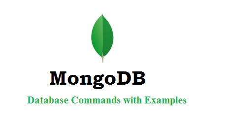mongoDB Database Commands with Examples