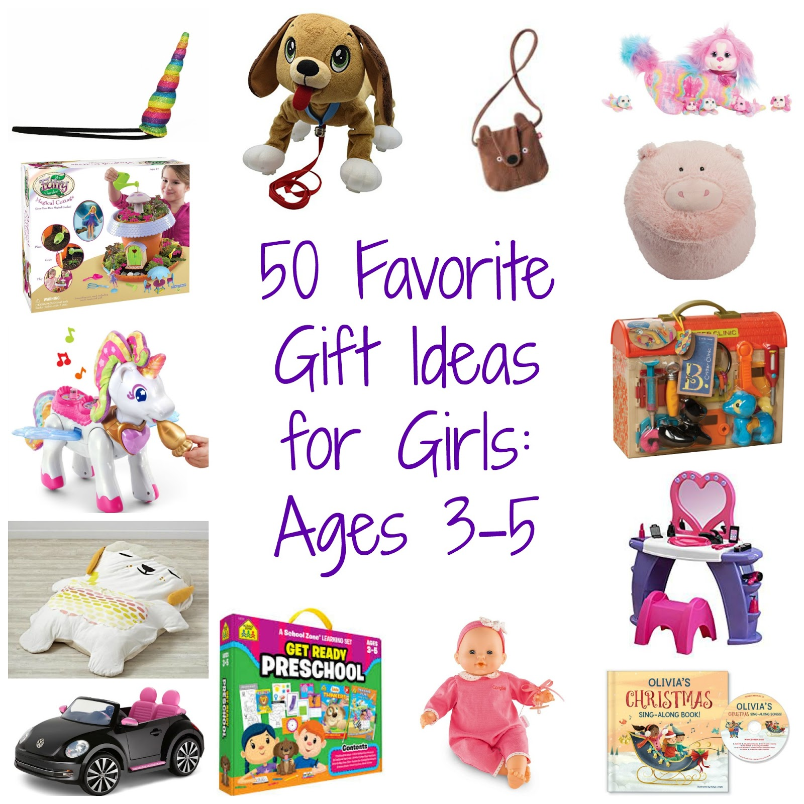 Gifts For Girls Age 6: 50 Favorite Gift Ideas For Girls, Ages 3-5