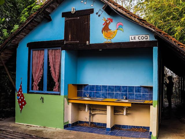 Sanitairgebouw camping