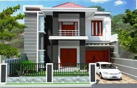 Desain Terbaru Rumah Minimalis 2 Lantai Type 45 Terupdate 2019 4