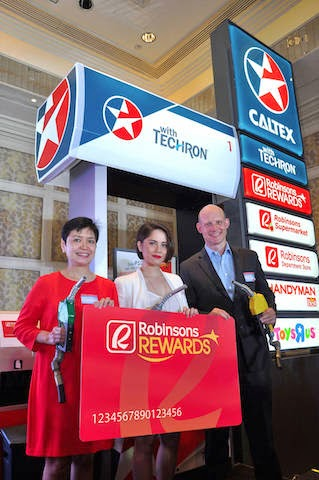 Caltex & Robinsons Reward Card