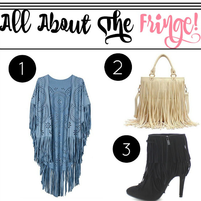 All About The Fringe  via  www.productreviewmom.com