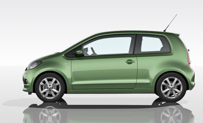 Skoda Citigo from the side