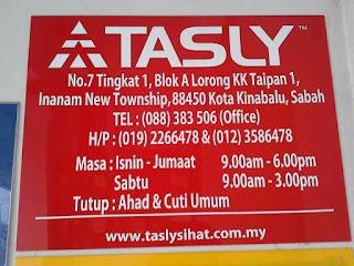 Kunjungi stokis Tasly Sabah