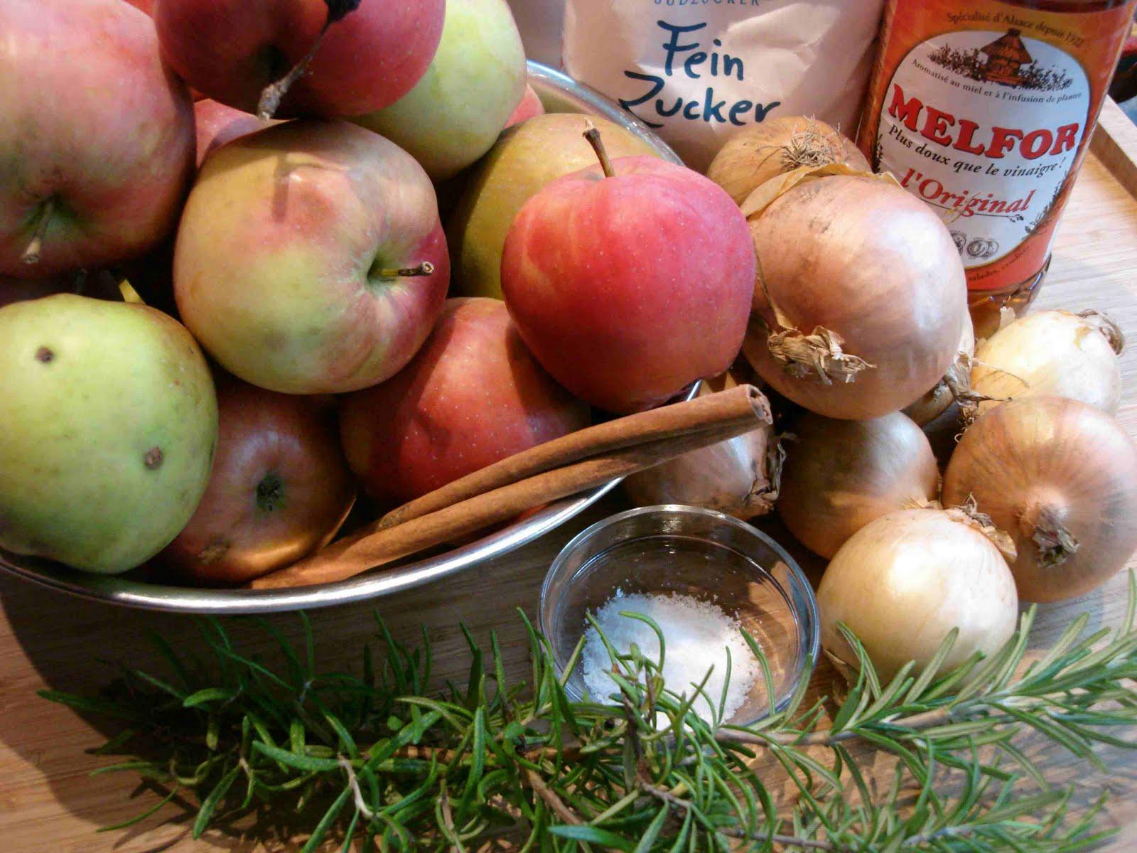 bushcooks kitchen: Apfel-Rosmarin-Chutney
