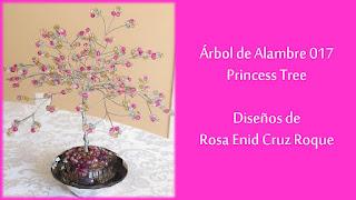 Arbol de Alambre 017 - Princess Tree