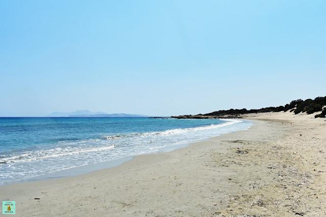 Psili Ammos en Naxos
