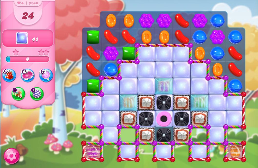 Candy Crush Saga level 6248