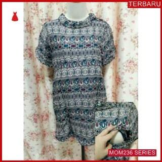 MOM236B19 Baju Atasan Hamil Batik Menyusui Bajuhamil Ibu Hamil