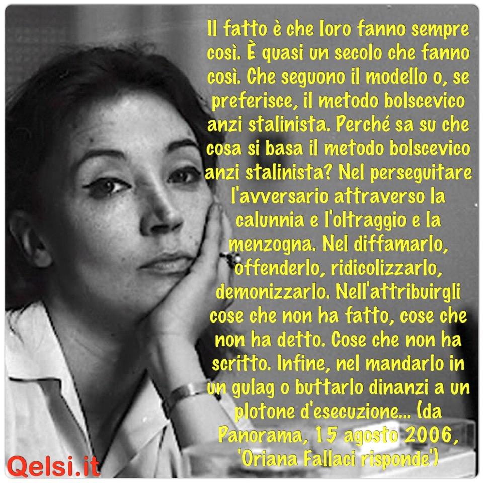 Le Migliori Frasi Di Oriana Fallaci