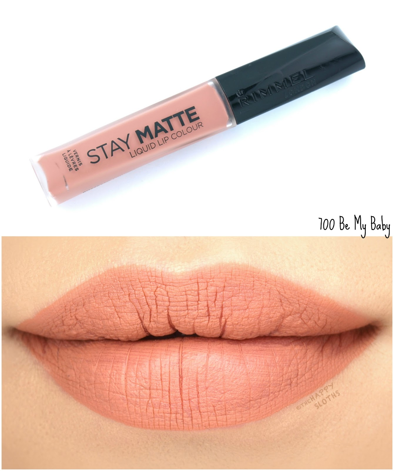 Rimmel London Stay Matte Liquid Lip Colour | 700 Be My Baby: Review and Swatches