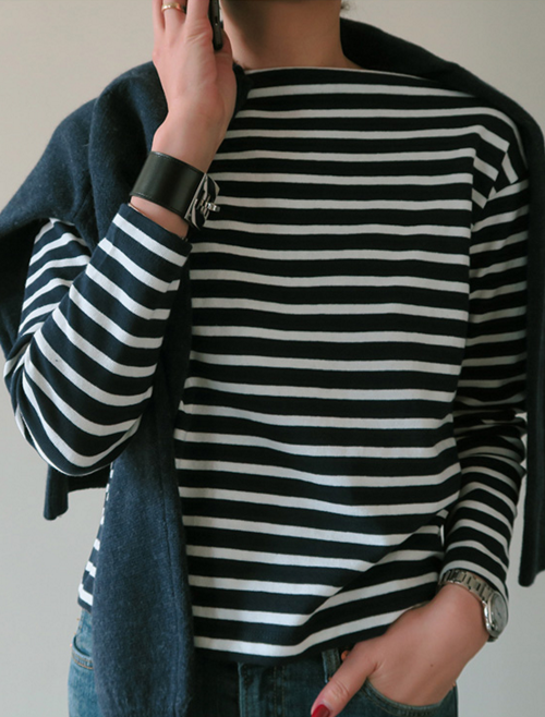 Stripes Knit Shirt