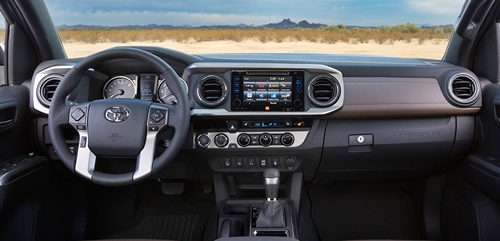 New 2016 Toyota Tacoma Redesign With Blue Elegant Exterior
