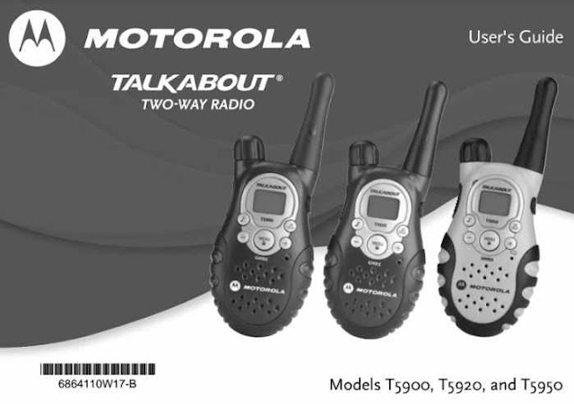 Motorola Talkabout T5950 Manual