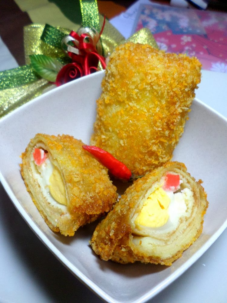 Resep Risoles Mayo : resep, risoles, Amal's, Kitchen, Simple, Recipes:, Risoles, Mayonaise, American, (Amris)
