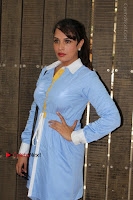 Richa Chadda Latest Pos in Blue Short Dress at the Screening Of Short Film Khoon Aali Chithi  0005.jpg