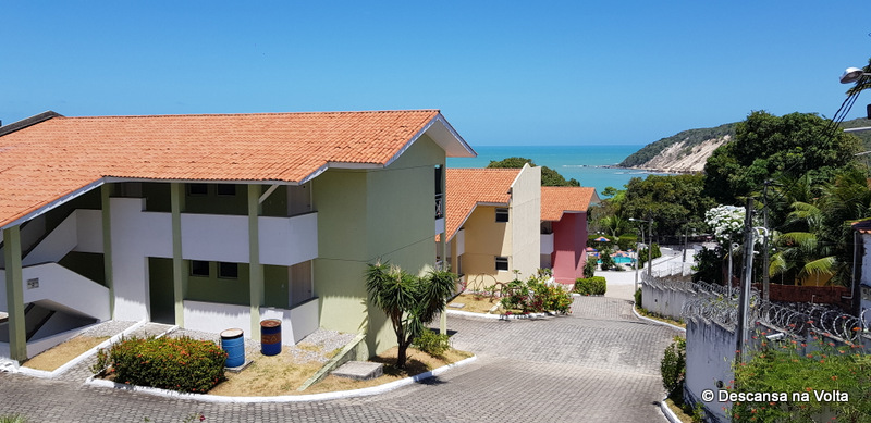 vista da varanda do Residence Village Natal RN