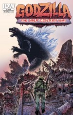 Godzilla: The Half-Century War #1, By James Stokoe, Heather Breckel, Frank Teran
