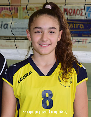 d92e7a57ce4 Στην προεθνική ομάδα βόλει παγκορασίδων η αθλήτρια του Α.Ο. Σκοπέλου Ράνια  Κοχύλη