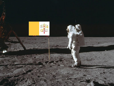 Pope on the Moon