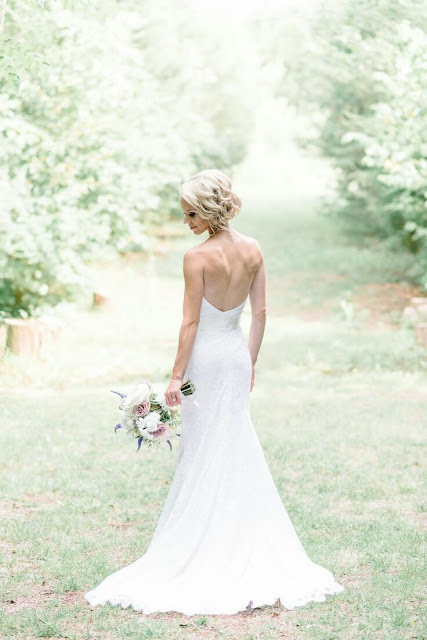 Wedding braid Dress
