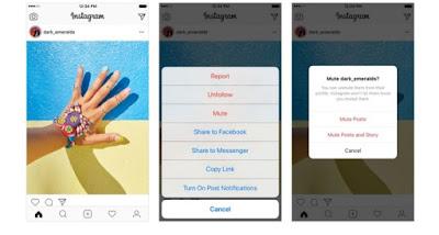 Instagram, redes sociales, social media, personas, feed, silenciar,
