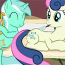 MLP Lyra and Bon Bon Music Play