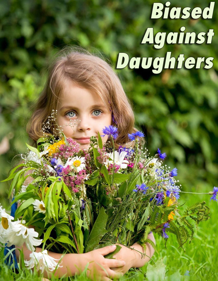 Biased Against Daughters