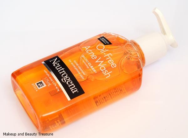 Neutrogena Oil free Acne Wash for oily skin