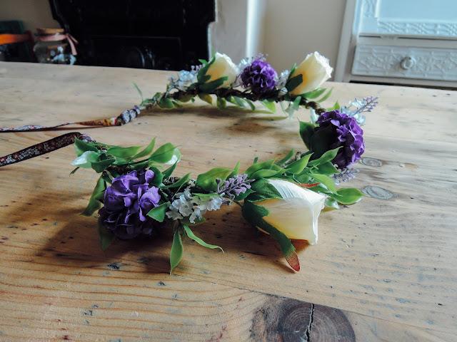 Floral Bridal Coronet