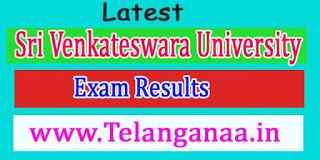 Sri Venkateswara University  Exam Results