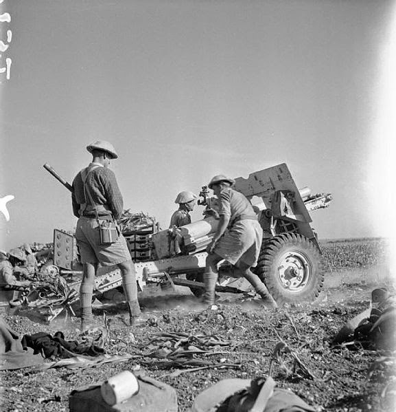 25-pounder field gun 13 June 1941 worldwartwo.filminspector.com