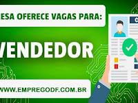 Emprego em Vendas com salário de R$1.300,00 - 05.02.19