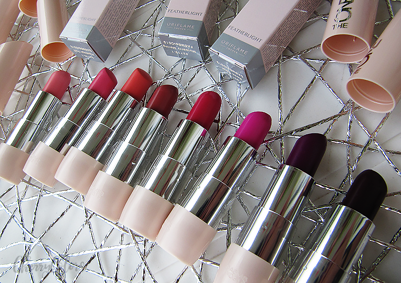 Oriflame Featherlight Lipsticks