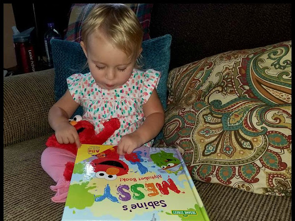 Little Ones Learn Their Messy ABC's with Elmo & Friends + Personalized Book Bundle #Giveaway #MBPBacktoSchool