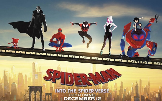 Spider-Man: Into the Spider-Verse (2018) DD5.1 Hindi BluRay 480p 720p 1080p | Dual Audio x264 | 10bit HEVC