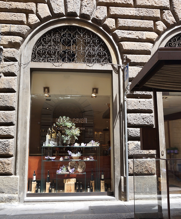 Euriental - luxury travel & style, Florence, Italy, Roberto Cavalli cafe