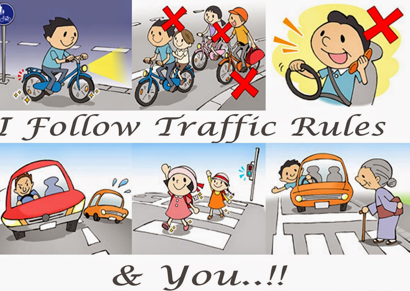 699 words essay on traffic rules in India