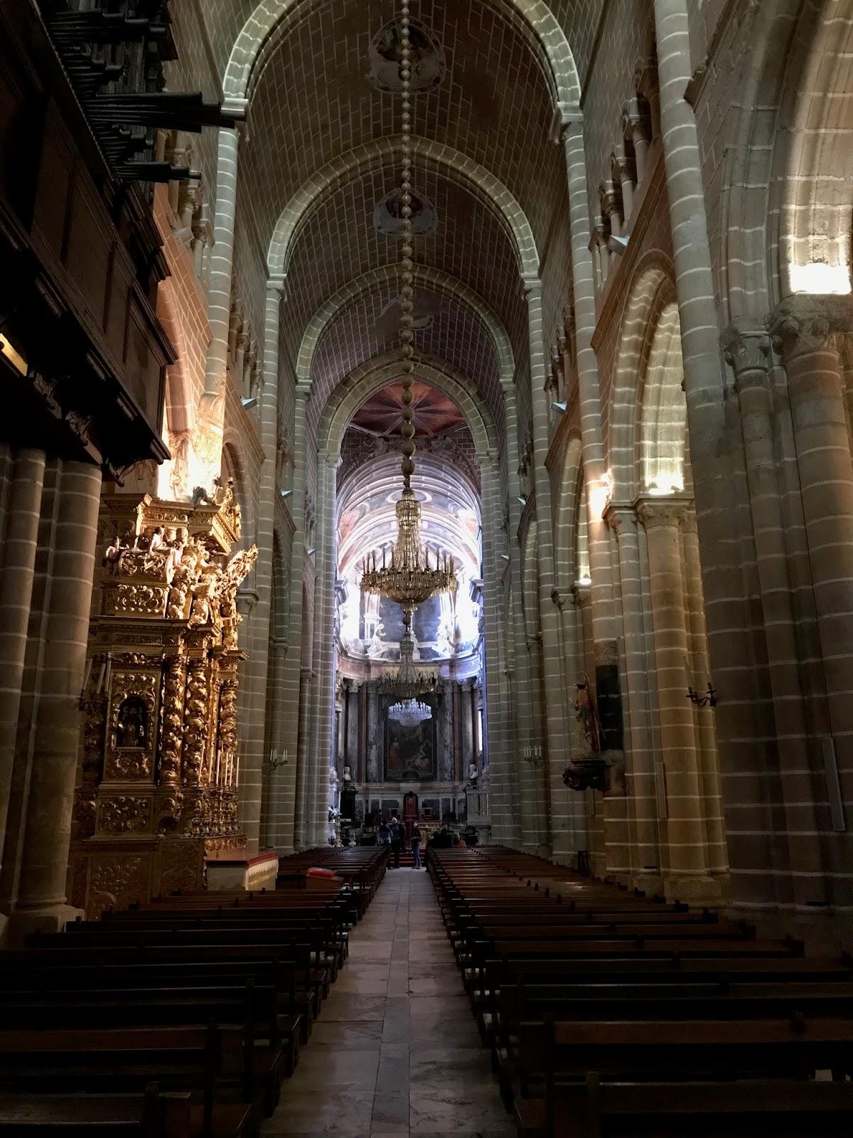 Catedral de Évora - Interior